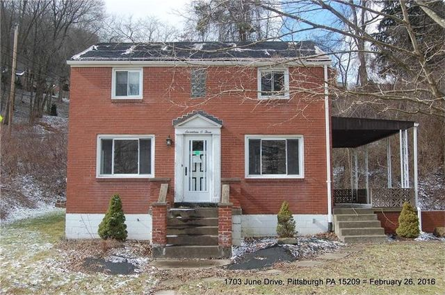 1703 june dr shaler township pa 15209 home for sale and real estate listing
