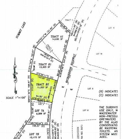 Mile 169 Richardson E2 Hwy Unit Tract, Summit Lake, AK 99586