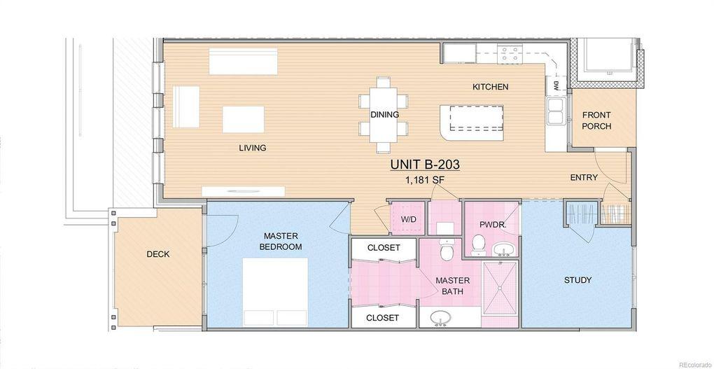 2930 Broadway St Unit 203, Boulder, CO 80304