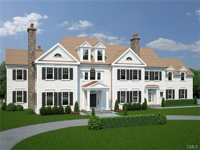 183 hemlock hill rd new canaan ct 06840 for Building a house in ct