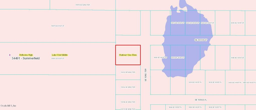 Summerfield Florida Map.Corner Se 92nd Ter And Se 161st St Summerfield Fl 34491 Land For
