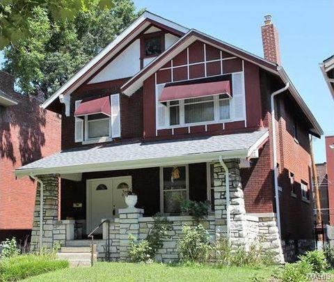 Skinker Debaliviere Historic District Saint Louis MO