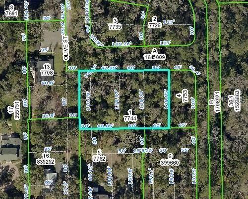 Olive St Brooksville Fl 34601 Recently Sold Land Sold