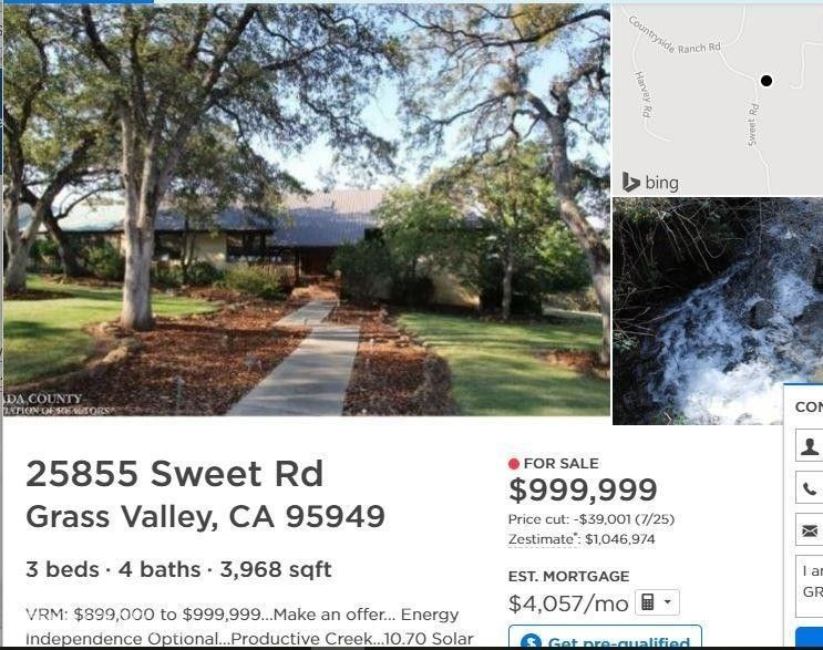 25855 Sweet Rd, Grass Valley, CA 95949