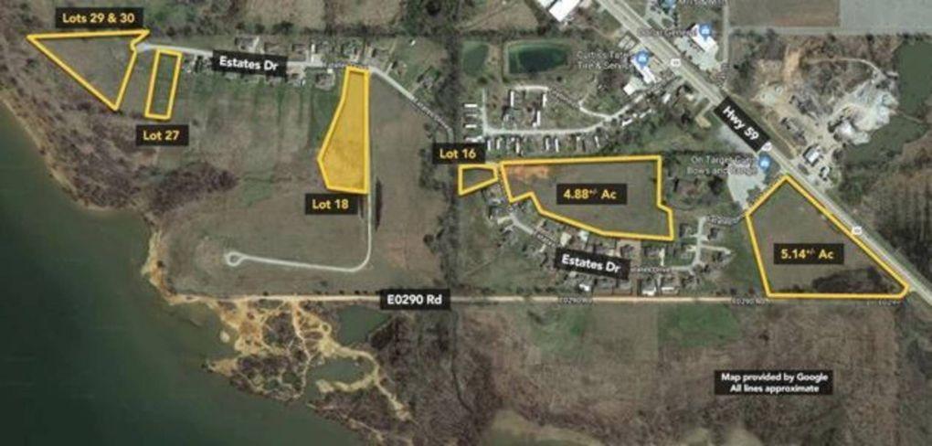 Grove Oklahoma Map.Estates At Carey Bay 18 Grove Ok 74344 Realtor Com