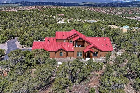 Photo of 24 Tablazon Valley Dr, Tijeras, NM 87059