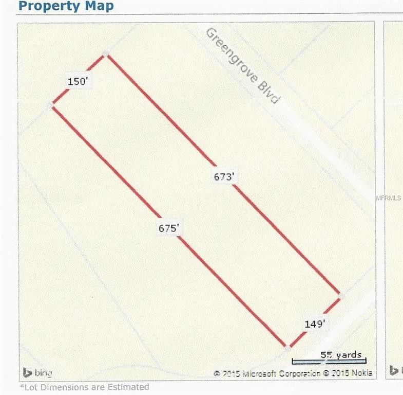 Clermont Florida Map.Ocilla Loop Clermont Fl 34711 Recently Sold Land Sold