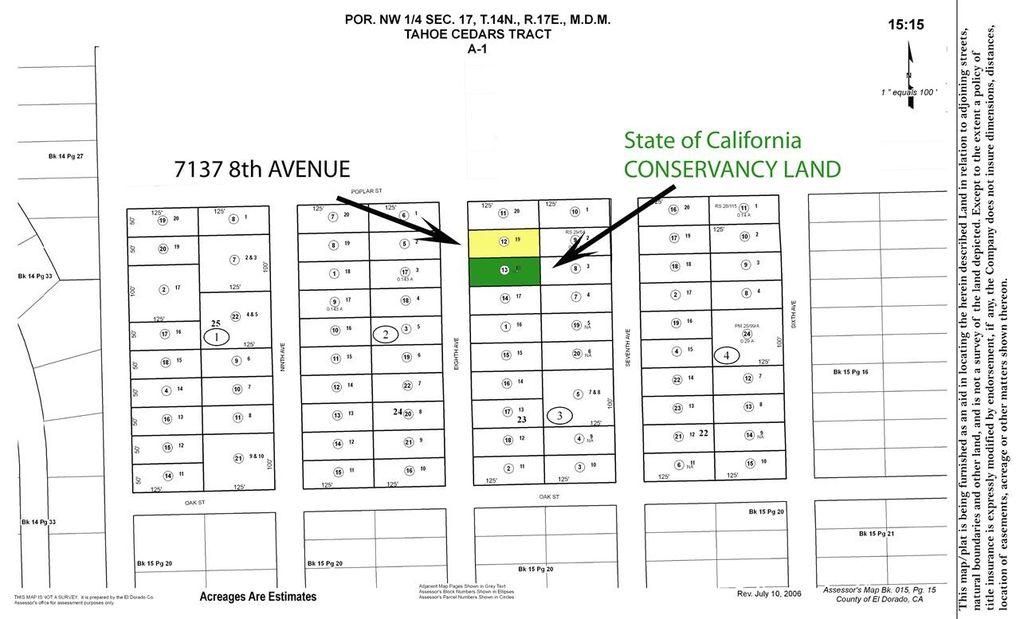 7137 8th Ave, Tahoma, CA 96142 - realtor.com® Tahoma Ca Map on