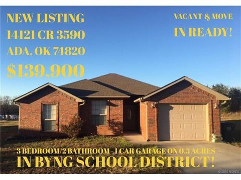 14121 County Road 3590, Ada, OK 74820
