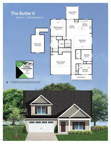 264 Marsh Haven Dr, Sneads Ferry, NC 28460