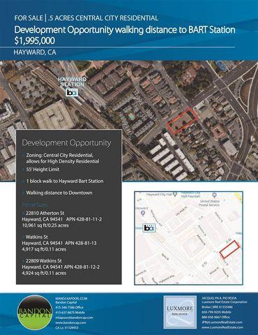Photo of 22809 Watkins St, Hayward, CA 94541
