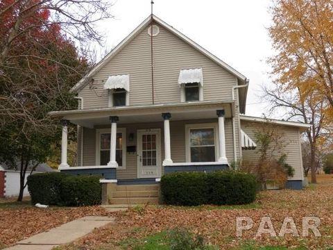 115 N Elmwood Rd, Farmington, IL 61531