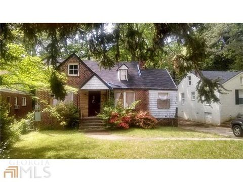 Homes For Sale In Adams Park Atlanta Ga