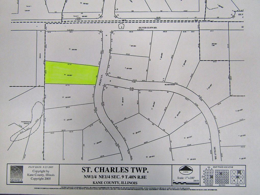 Foley Ln Lot 34 Saint Charles Il 60175 Land For Sale And Real