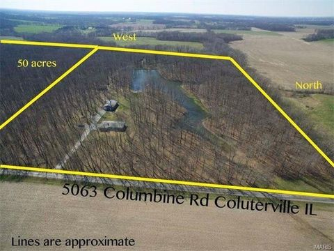 5063 Columbine Rd, Coulterville, IL 62237