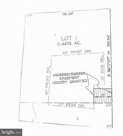 Culpeper St Lot 1, Warrenton, VA 20186