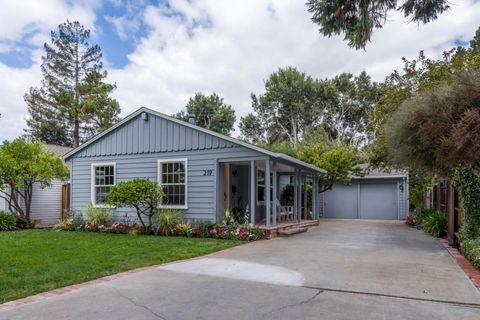 219 Hedge Rd, Menlo Park, CA 94025
