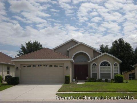 434 Hartford Ct, Spring Hill, FL 34609