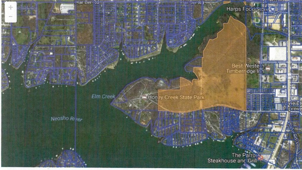 Grove Oklahoma Map.695 State Park Rd Grove Ok 74344 Realtor Com