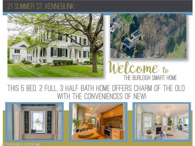 21 summer st kennebunk me 04043 home for sale and real