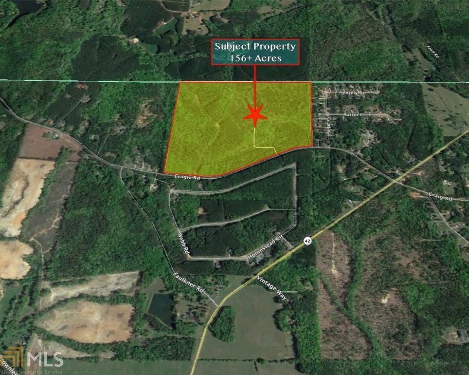 Forsyth Georgia Map.Teagle Rd Forsyth Ga 31029 Land For Sale And Real Estate Listing