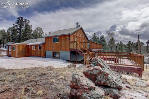 Photo of 419 Crystal Peak Dr, Lake George, CO 80827