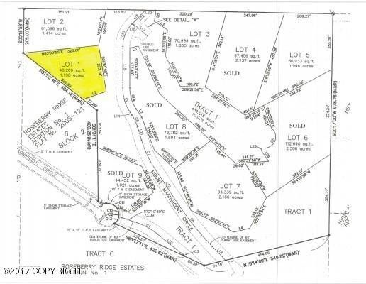 Roseberry Highlands Lot 1, Eagle River, AK 99577