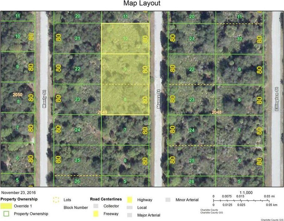 Street Map Port Charlotte Florida.401 Munoz Street Port Charlotte Fl 33953 Land For Sale And Real