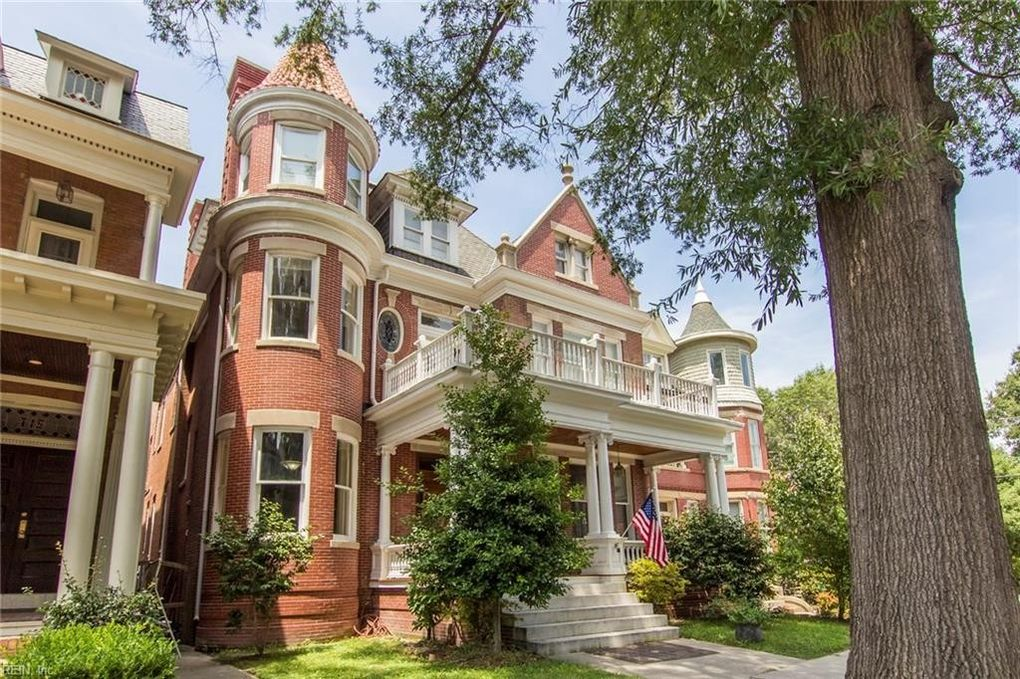Historic Homes In Norfolk Va: 717 Colonial Ave, Norfolk, VA 23507