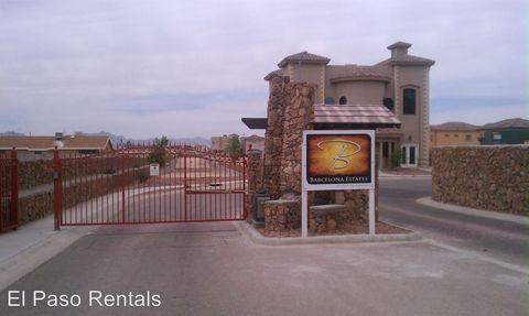 Photo of 12273 Gaudi Way, El Paso, TX 79938