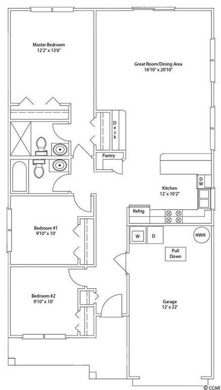 1033 Oglethorpe Dr Unit Forest Gln Lot 72, Conway, SC 29527