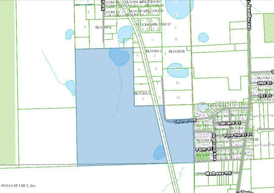 225 Church Rd Crescent City Fl 32112 Recently Sold Land Sold