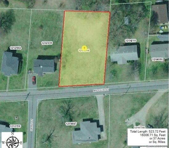 Spindale Nc Map.Missouri St Spindale Nc 28160 Land For Sale And Real Estate