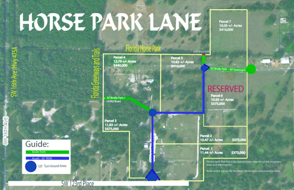 Ocala Florida Map.Sw 10th Ave Ocala Fl 34473 Land For Sale And Real Estate Listing