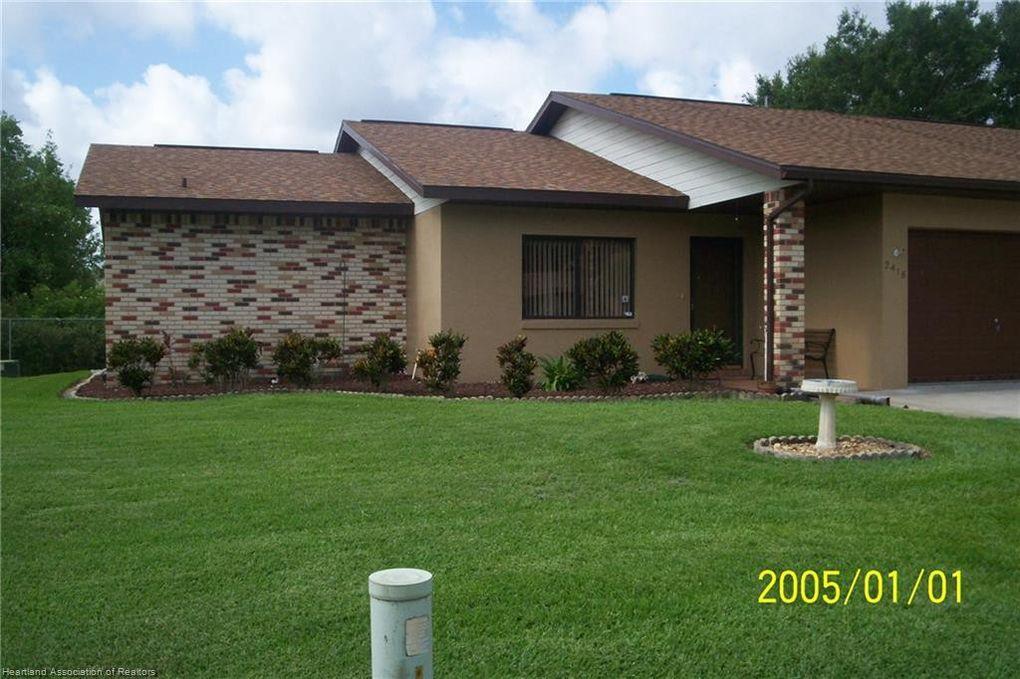 2418 Hidden Creek Cir Sebring, FL 33870