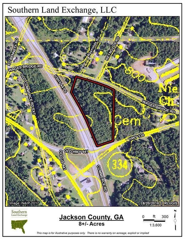Map Of Hwy 441 In Georgia.Us Highway 441 And Highway 334 Nicholson Ga 30565