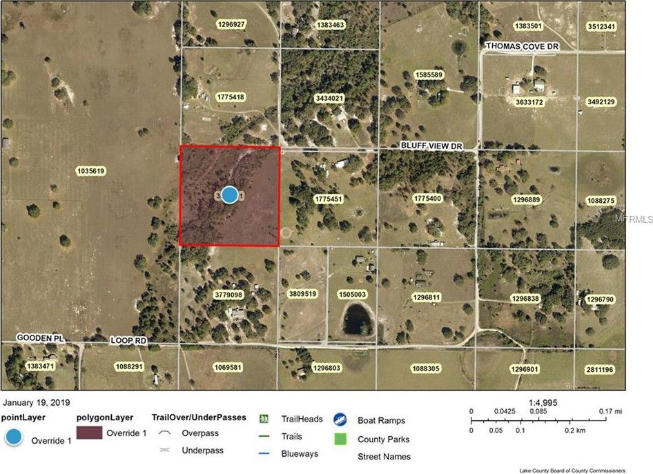 Groveland Florida Map.Bluff View Dr Groveland Fl 34736 Land For Sale And Real Estate
