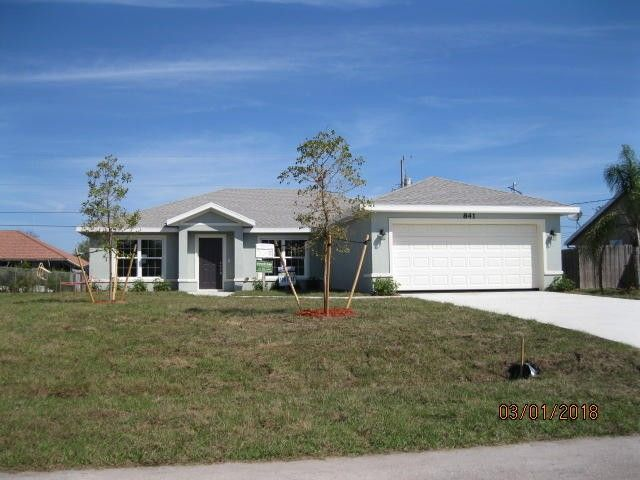 841 Sw Mc Cracken Ave, Port Saint Lucie, FL 34953