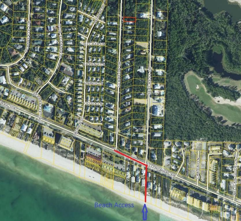 Seacrest Beach Florida Map.N1 2 Clareon Dr 5 Seacrest Fl 32461 Land For Sale And Real