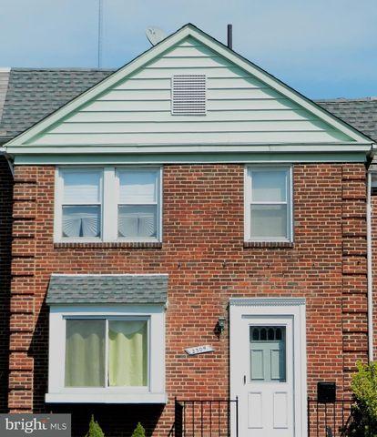 2309 Braddish Ave, Baltimore, MD 21216