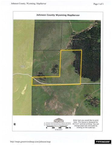 Johnson County Wyoming Map Server | shamanichorsework
