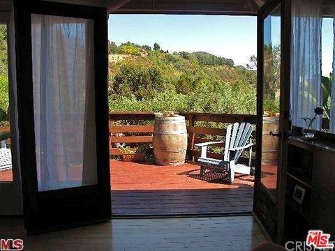 516 Fernwood Pacific Dr, Topanga, CA 90290