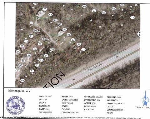 Pt Summit St Lot 11, Osage, WV 26543