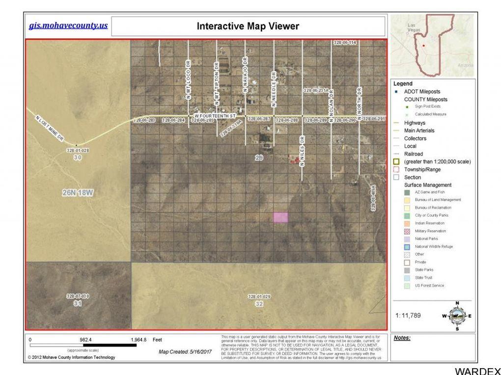 Dolan Springs Arizona Map.N Needles Dr Dolan Springs Az 86441 Realtor Com