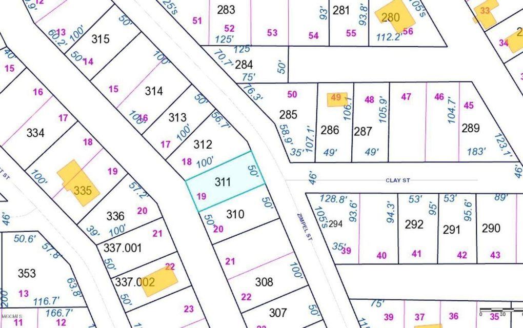 Zimple St Lot 19, Bay Saint Louis, MS 39520
