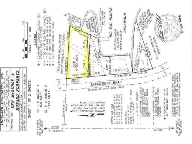 Lakehurst Rd Lot 62 Mosinee, WI 54455