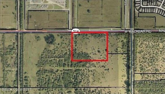 Map Of Palm Bay Florida.Malabar Rd Nw Palm Bay Fl 32907 Land For Sale And Real Estate