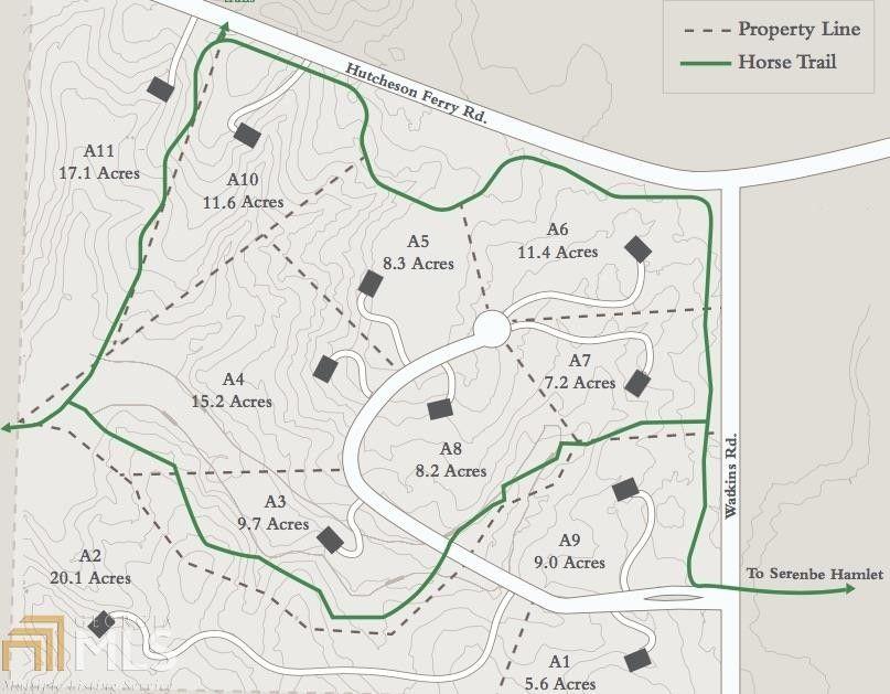 8335 Serenbe Rd Lot A5 Chattahoochee Hills Ga 30268 Land For