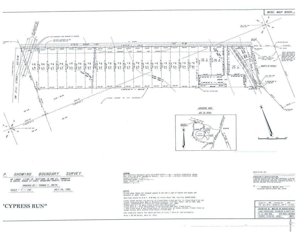 W Sr 100 Starke Fl 32091 Land For Sale And Real Estate Listing
