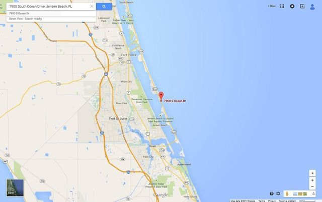 Jensen Beach Florida Map.7900 S Ocean Dr Jensen Beach Fl 34957 Realtor Com
